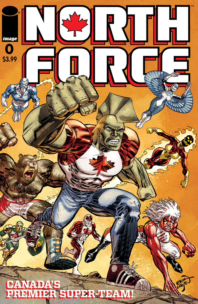 Image Comics reworking 'Savage Dragon' #259 into 'North Force' #0