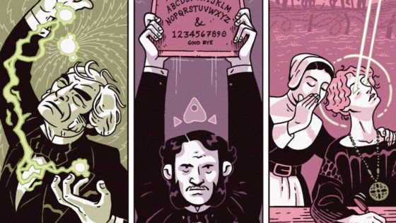 Richard Wiseman talks about his magic, paranormal, and skepticism comic, 'Hocus Pocus'