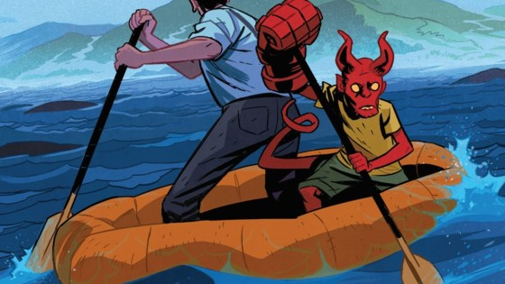 'Young Hellboy' writer Tom Sniegoski on vampire queens, dinosaurs, and ape gods