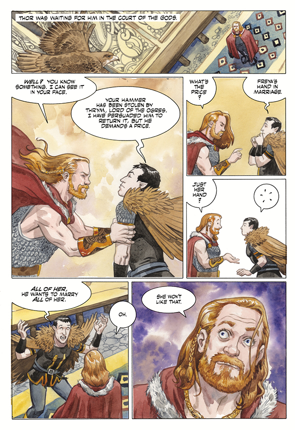 That time Thor was a trickster too in 'Norse Mythology' #6