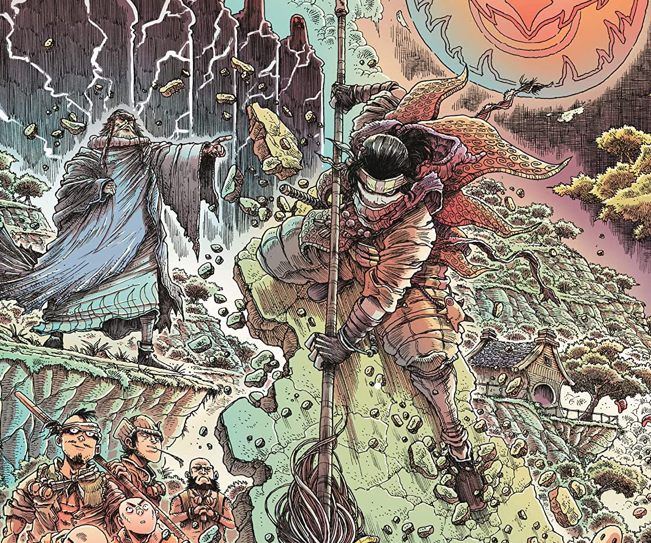 Orphan and the Five Beasts #1