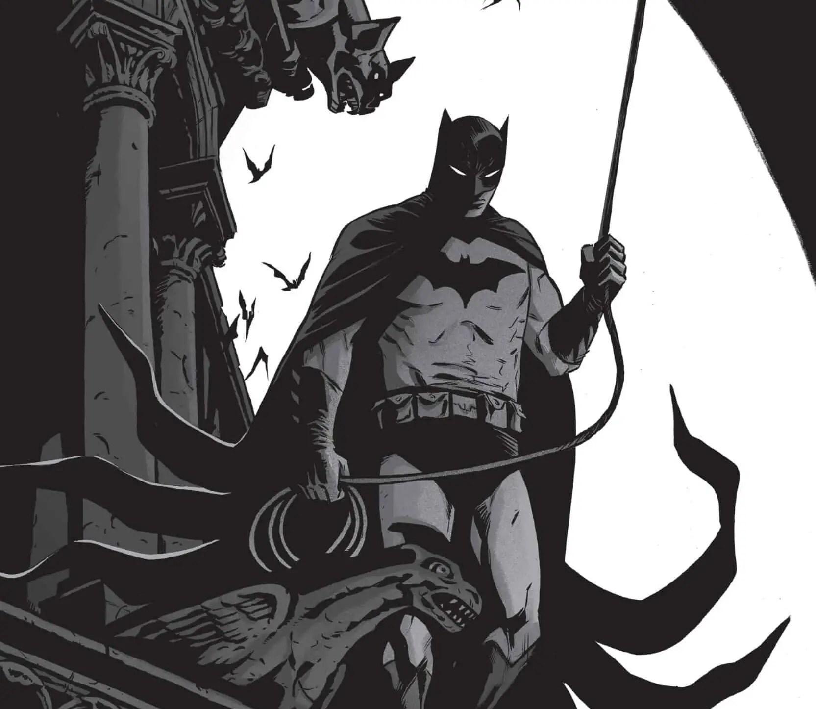 Batman: Black & White #4 cover by Becky Cloonan
