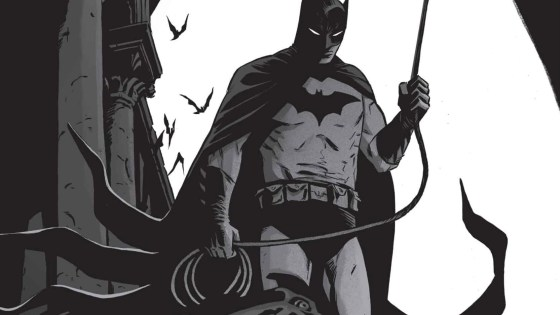 Batman: Black & White #4 cover by Becky Cloonan