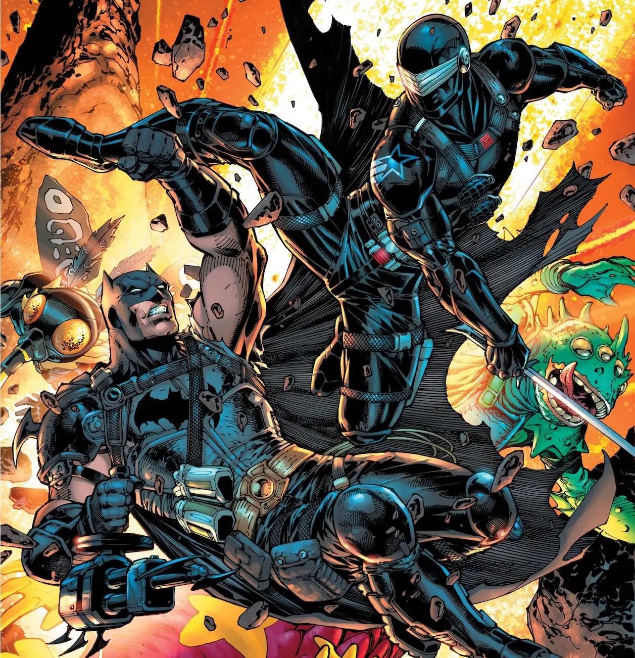 'Batman/Fortnite: Zero Point' #3 is all about Batman vs. Snake Eyes
