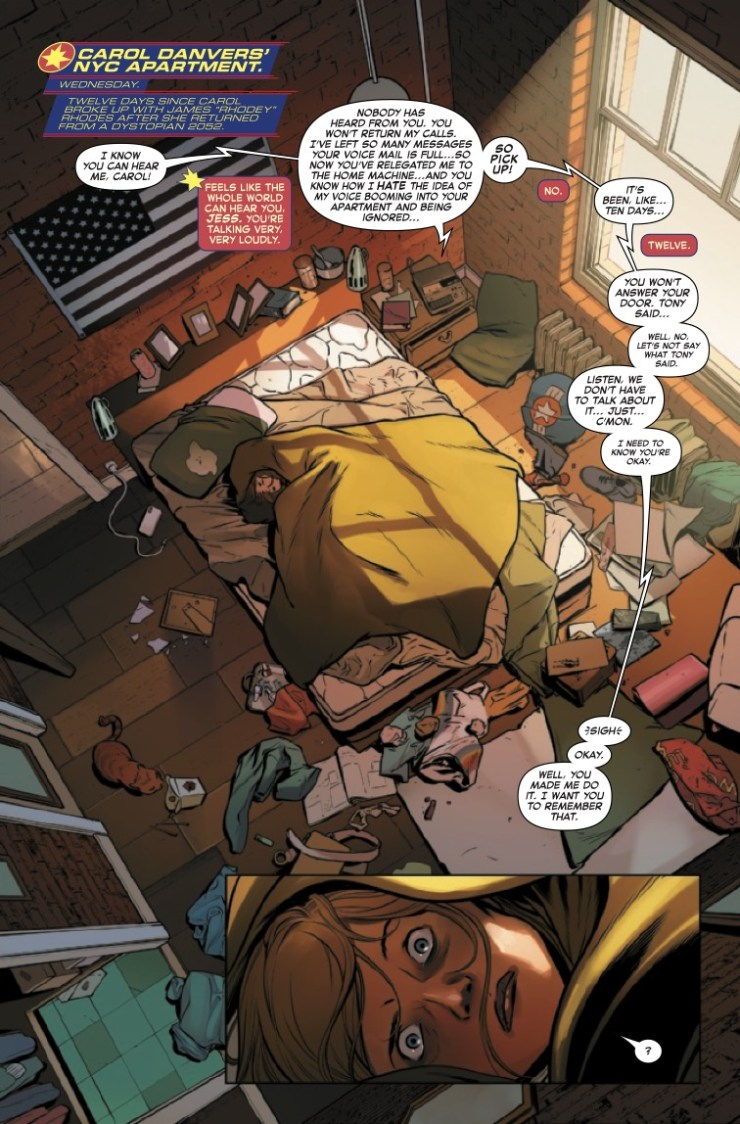 Marvel Preview: Captain Marvel #27
