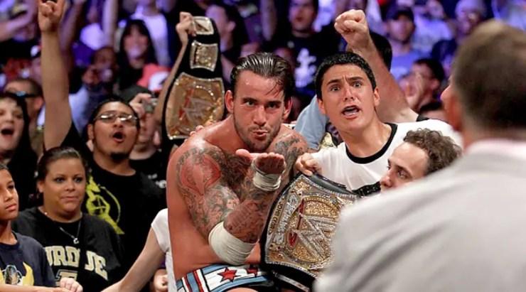 wrestling CM Punk WWE