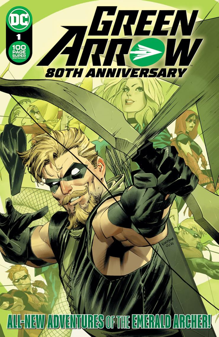 DC Comics celebrates 80 years of 'Green Arrow' with 80th anniversary giant