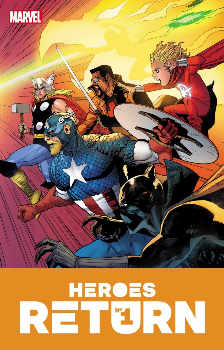 Marvel Comics to wrap up 'Heroes Reborn' with 'Heroes Return' #1 in June