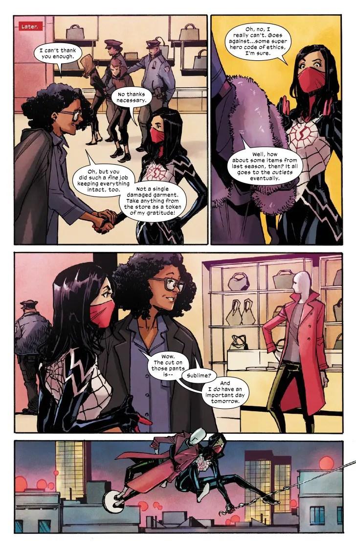 Marvel First Look: Silk #1