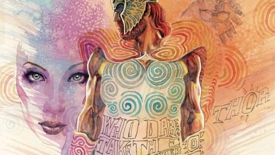 'Norse Mythology' #6 is a gorgeous example Jill Thompson's work
