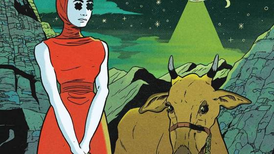 'The Department of Truth' #7 delves into UFOs and The Men in Black