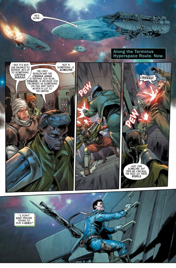 Marvel Preview: Star Wars: Bounty Hunters #10