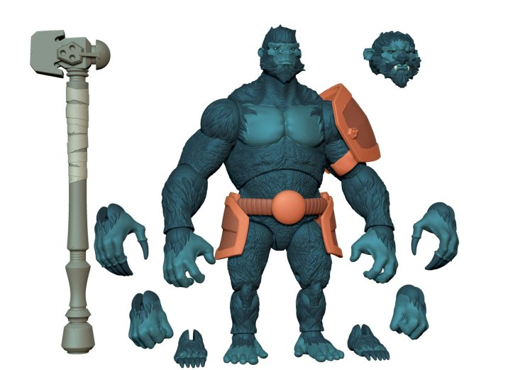 'Animal Warriors of the Kingdom' action figure Kickstarter reaches funding goal in under a week