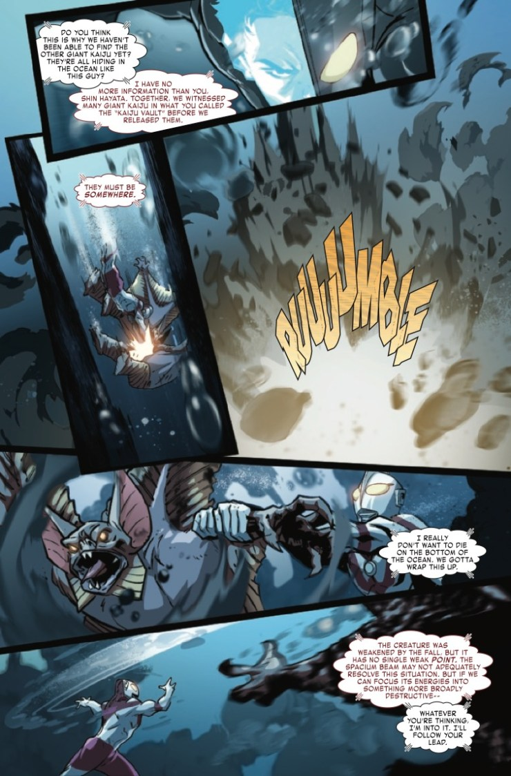 Marvel Preview: The Trials Of Ultraman #1