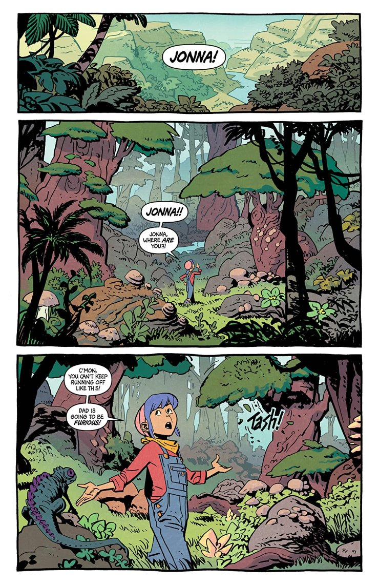 'Jonna and the Unpossible Monsters' #1 review