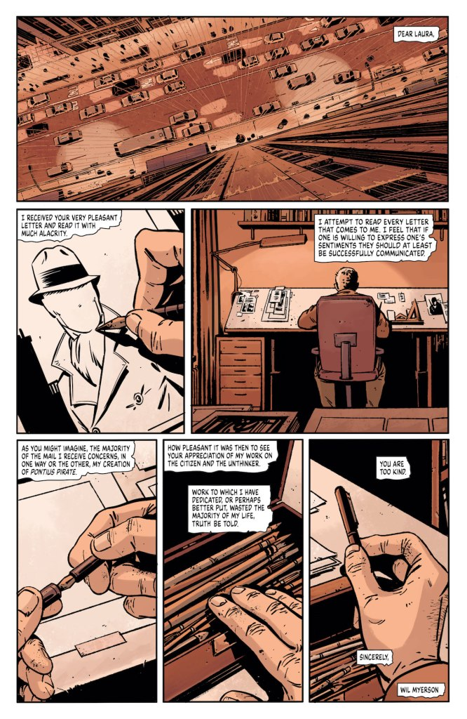 'Rorschach' #6 review: letters