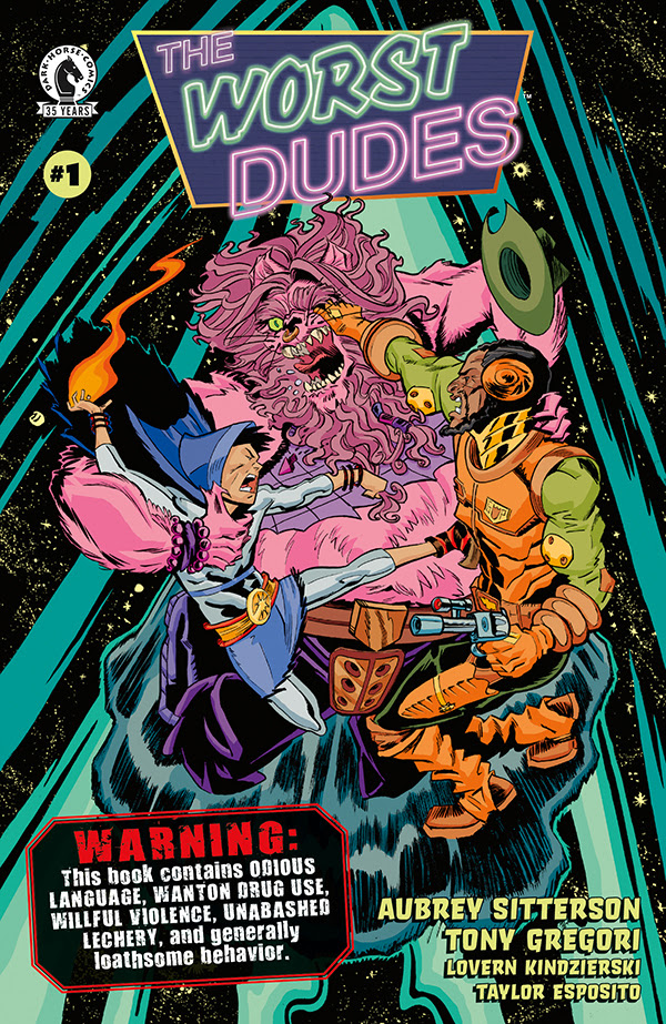 Dark Horse publishing raunch-filled 'The Worst Dudes' June 2nd