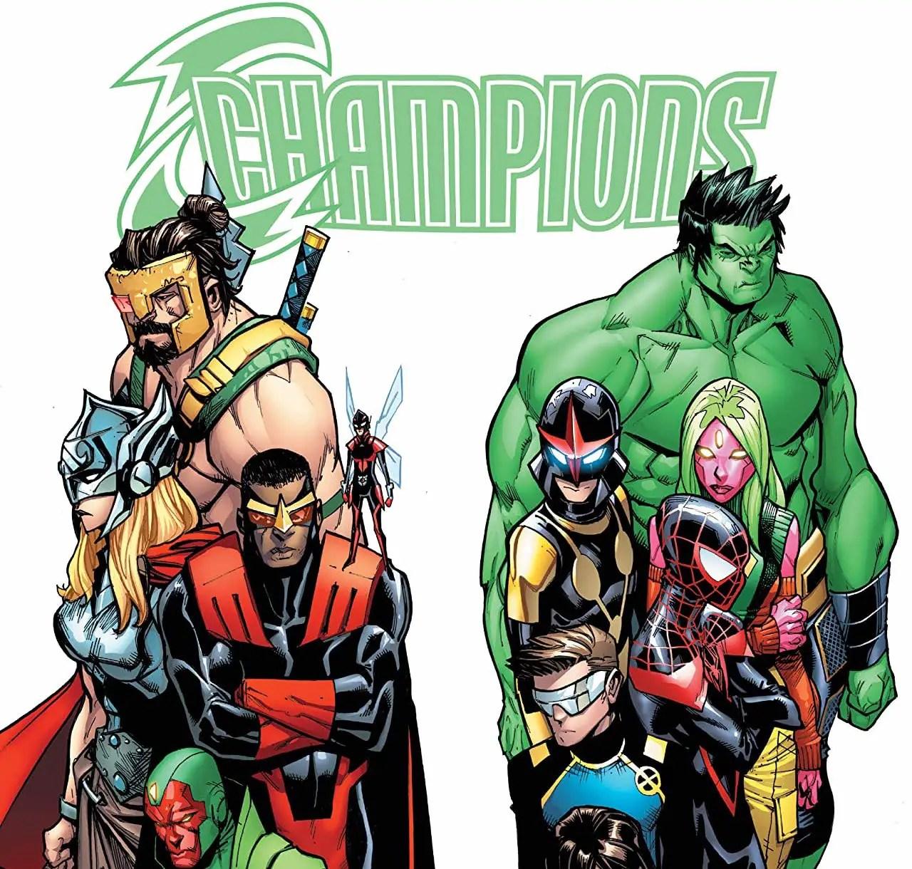 Champions: Worlds Collide