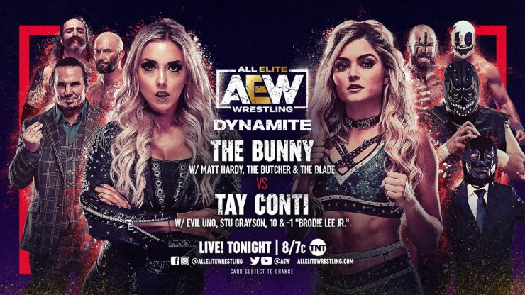 AEW Dynamite - The Bunny vs. Tay Conti