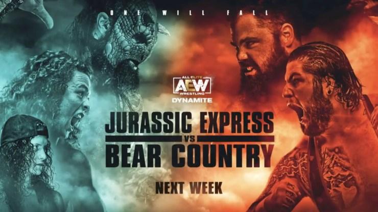 AEW - Godzilla vs. Kong match
