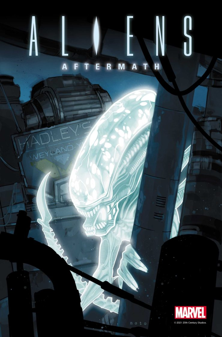 Marvel announces 'Aliens: Aftermath' #1 one-shot from Ben Percy