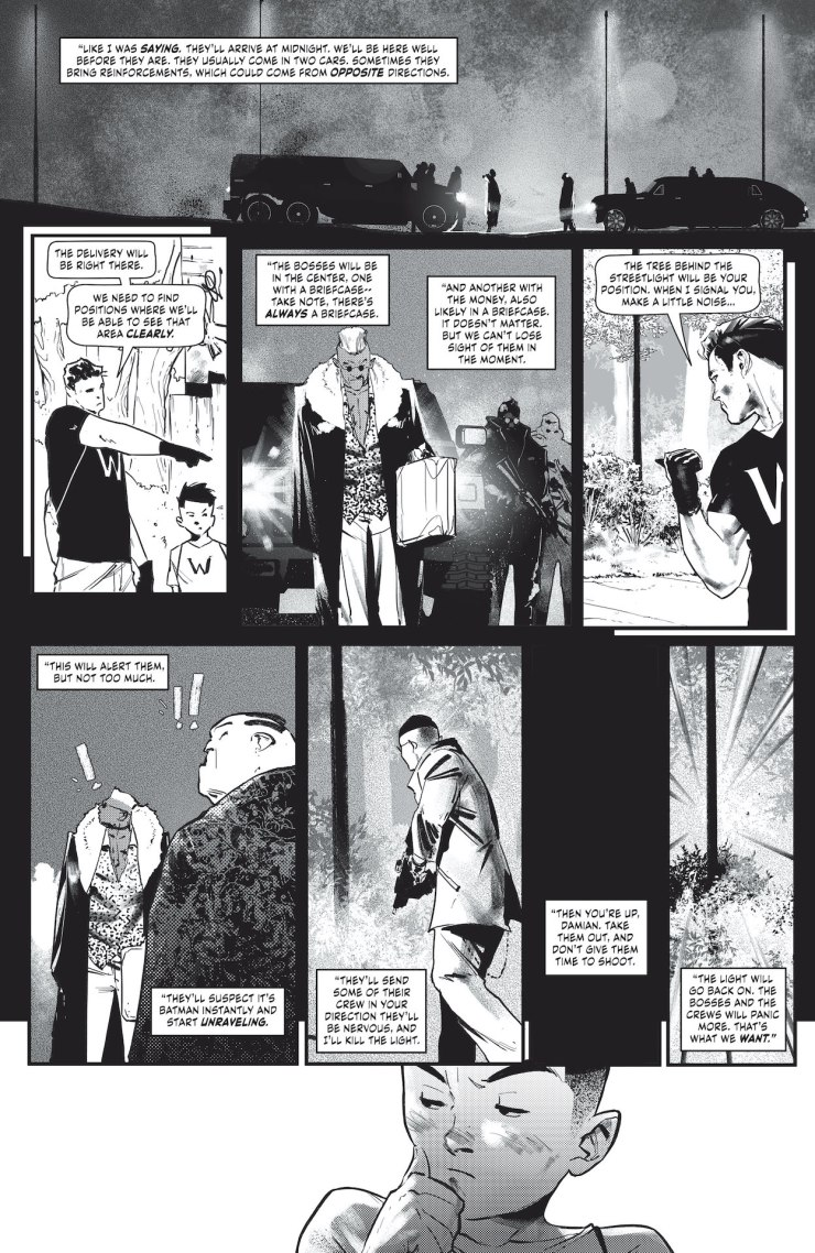 DC Preview: Batman: Black & White #5