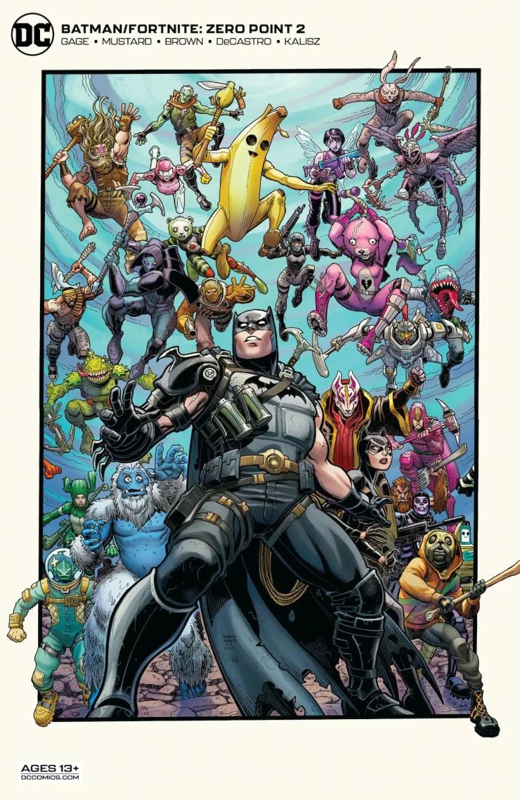 DC Preview: Batman/Fortnite: Zero Point #2