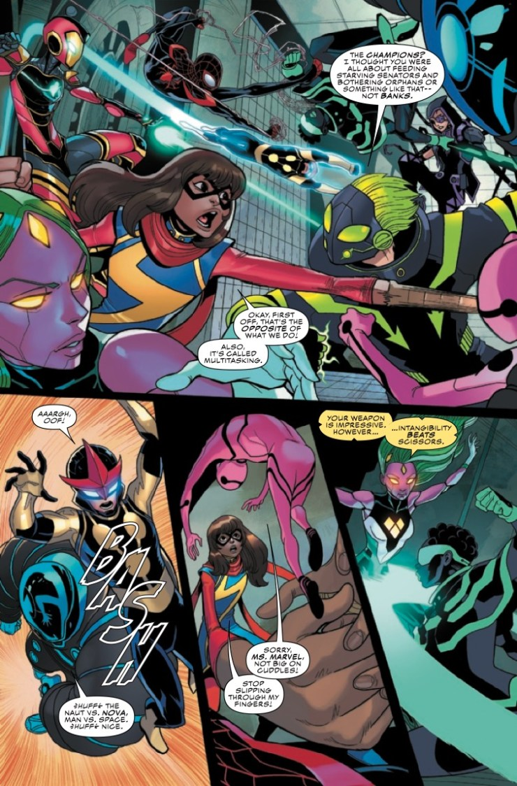 Marvel Preview: Champions #6
