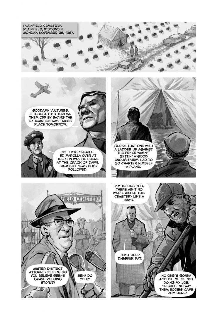 Kickstarter Alert: 'Did You Hear What Eddie Gein Done?' graphic novel