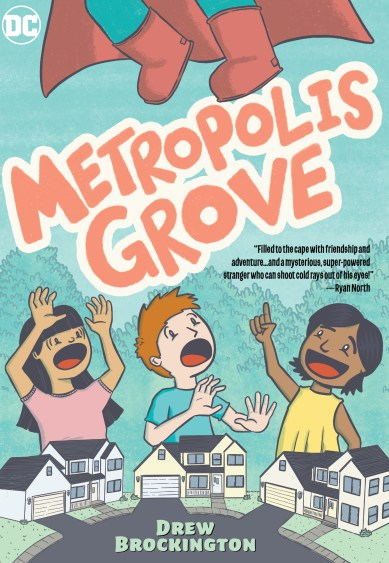 Drew Brockington brings superheroes into the suburbs with 'Metropolis Grove'
