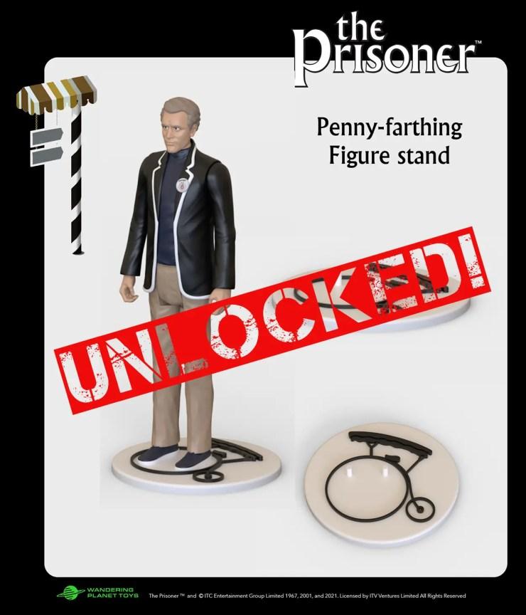 Kickstarter Alert: 'The Prisoner' action figure reaches 2nd stretch goal
