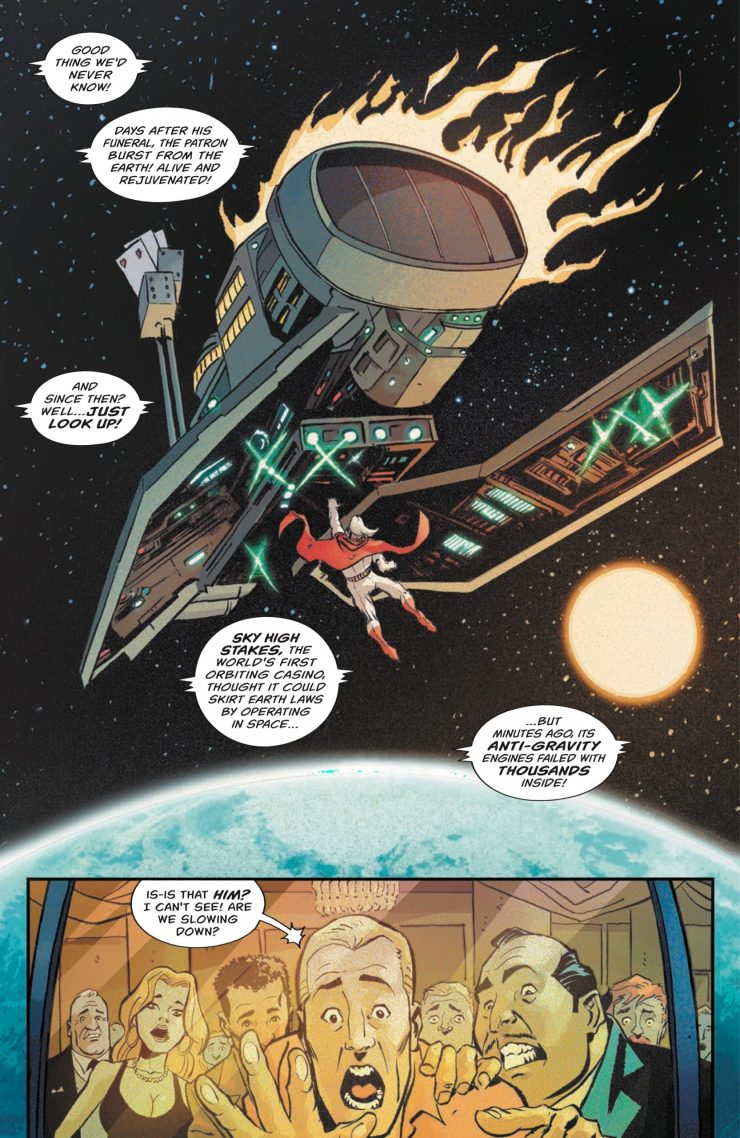 'Project: Patron' # 1 is a terrific, heroic conspiracy