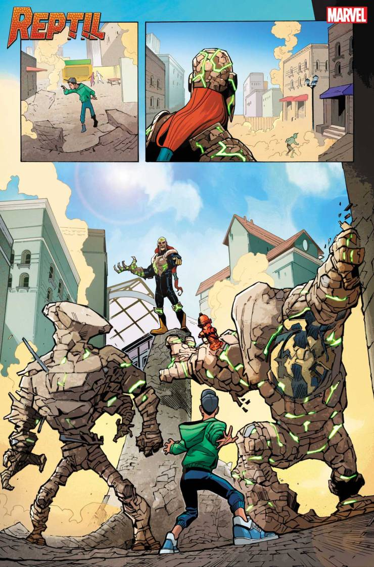 Marvel First Look: Reptil #1
