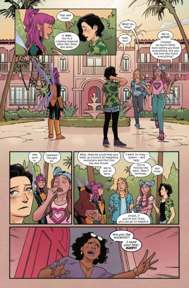 Marvel Preview: Runaways #35