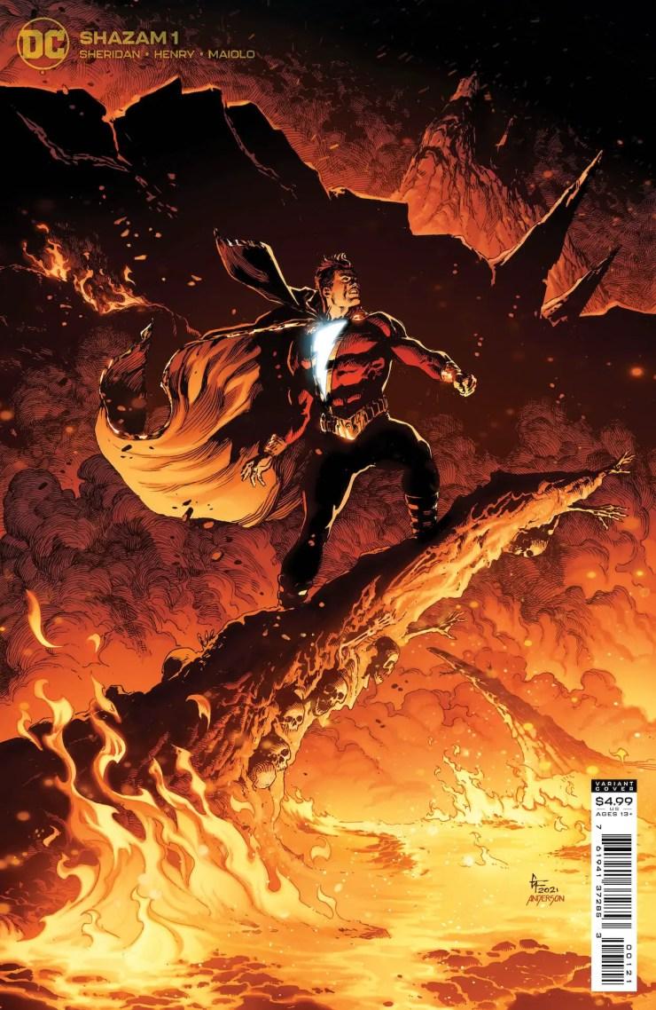 DC Comics announces four-issue 'Shazam!' series