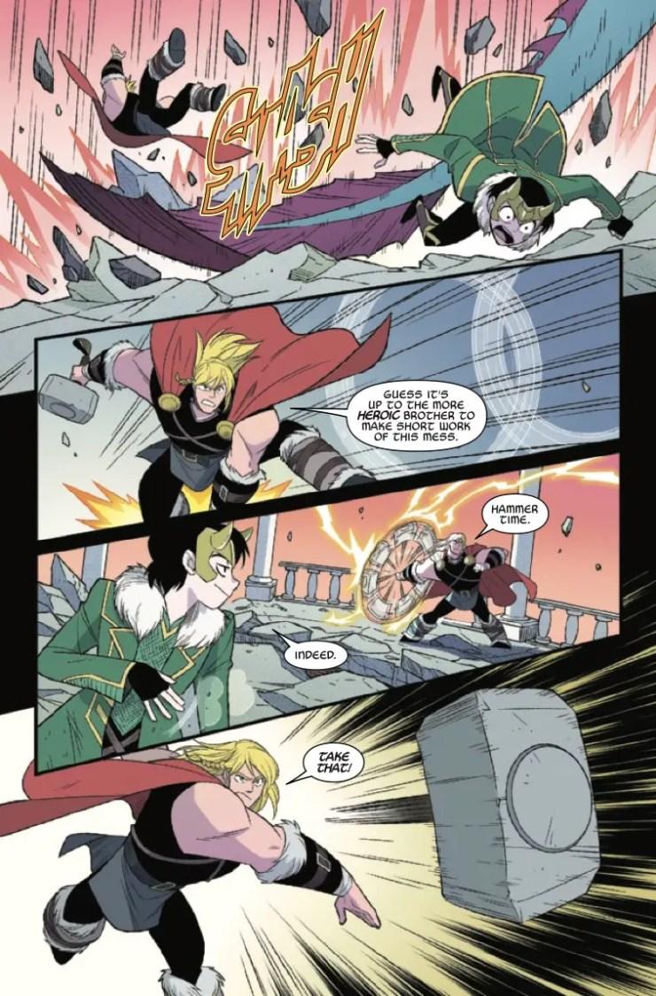 Thor & Loki: Double Trouble (2021) #2 (of 4)