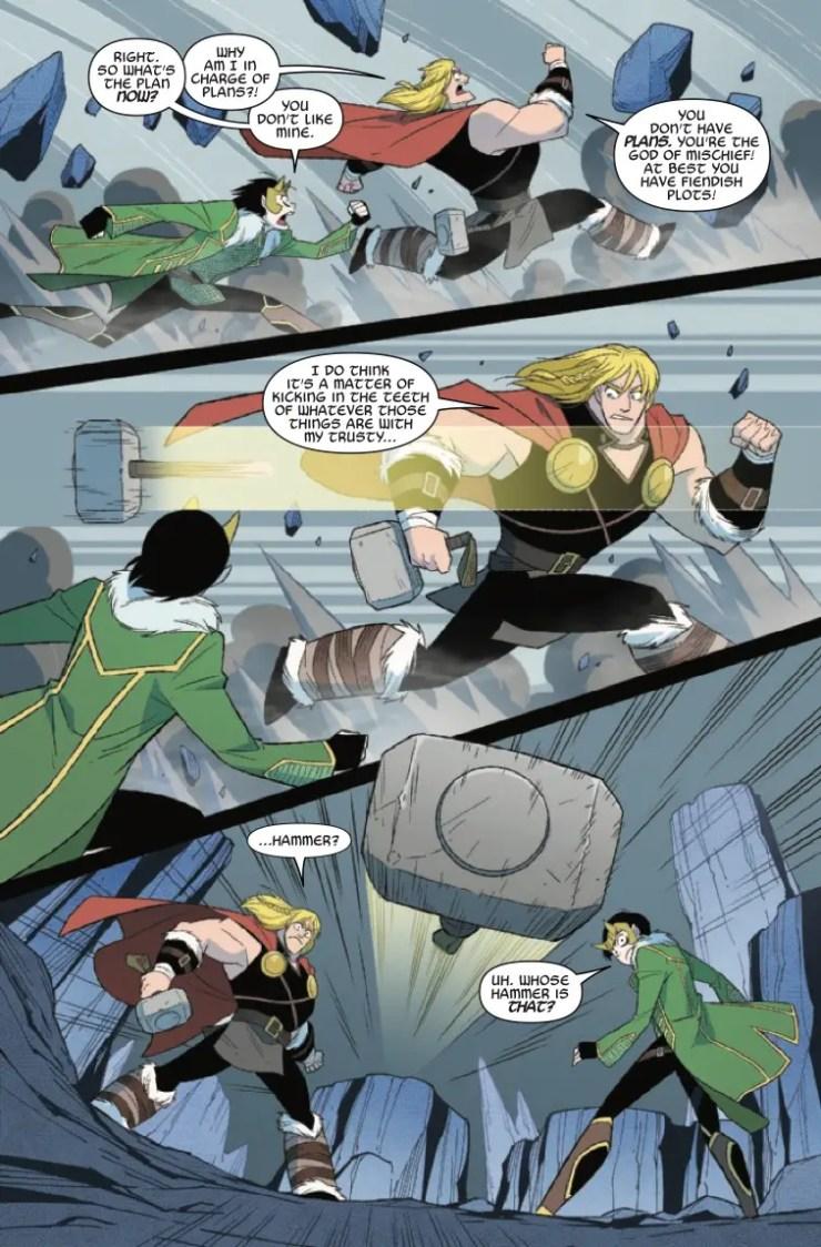Marvel Preview: Thor & Loki: Double Trouble #3