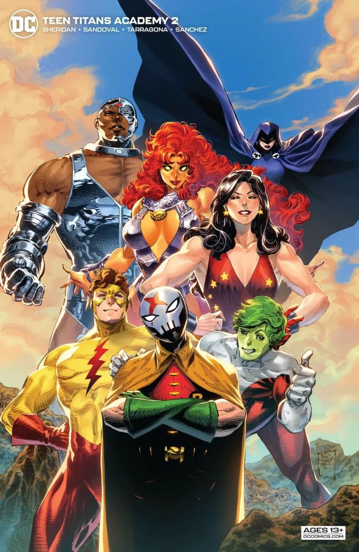 DC Preview: Teen Titans Academy #2