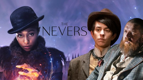 Nick Frost, Rochelle Neil, Vinnie Heaven on playing villains in 'The Nevers'