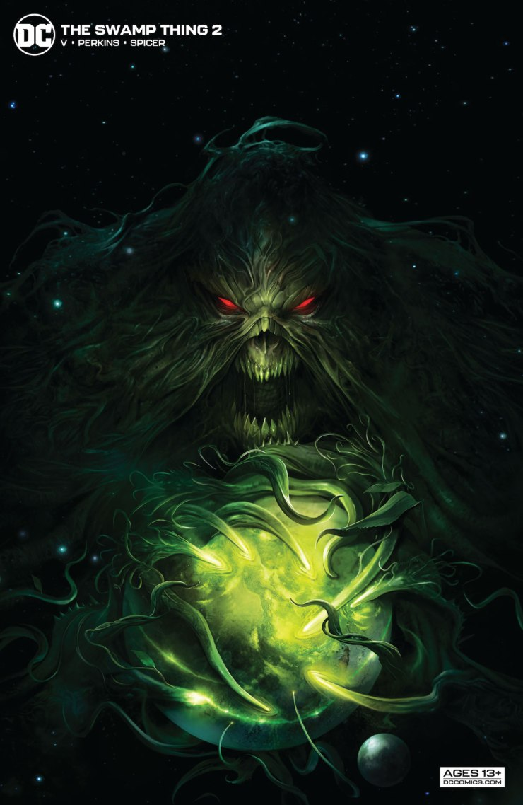 DC Preview: The Swamp Thing #2