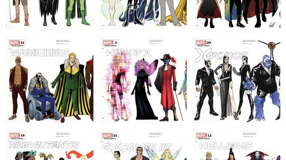 Marvel First Look: Every Hellfire Gala character design variant cover