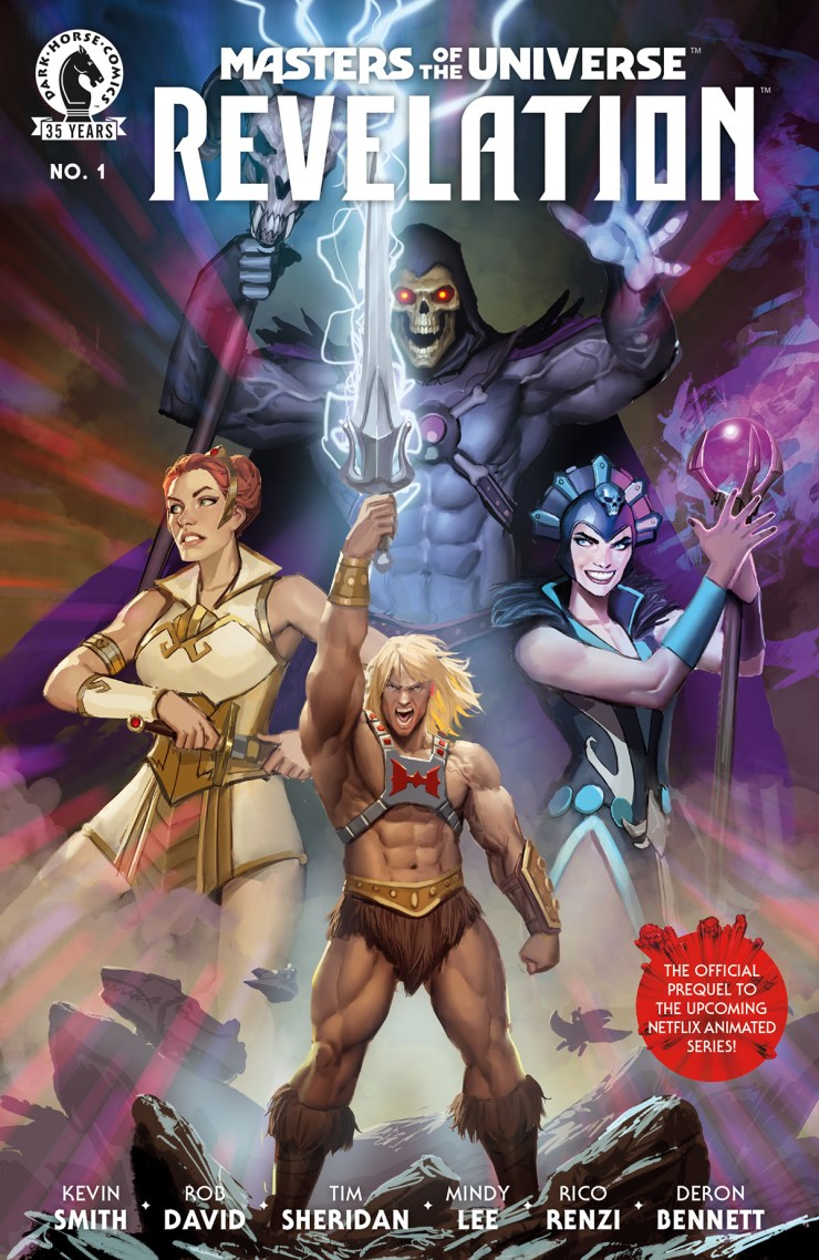 Dark Horse and Mattel announce 'Masters of the Universe: Revelation'