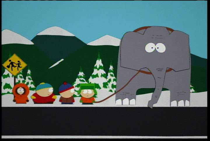 Goin' Down to South Park Guide S 1 E 5: 'An Elephant Makes Love To A Pig'