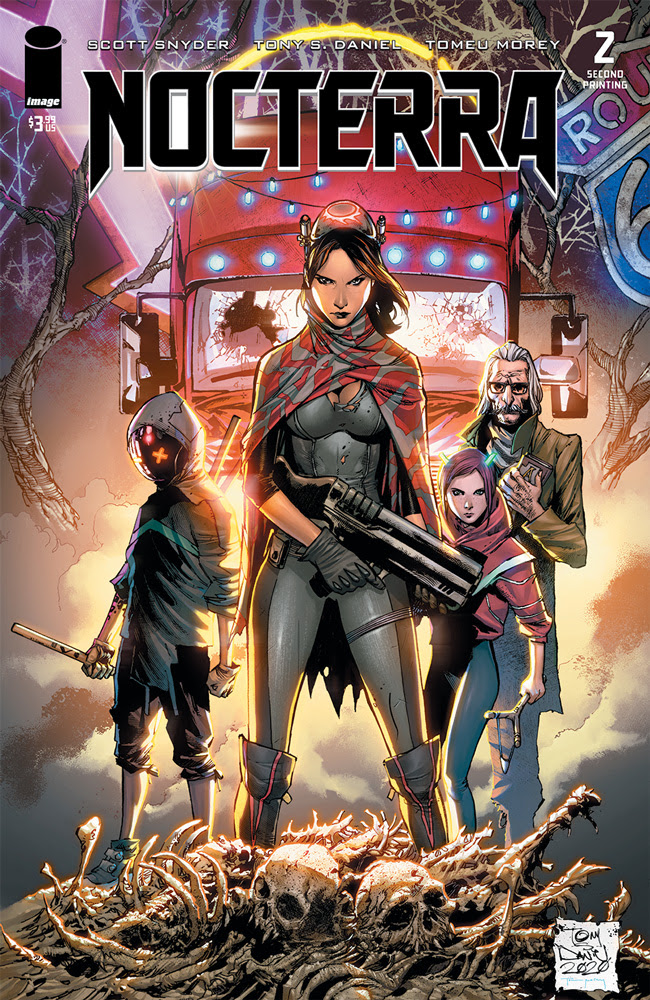Image Comics' 'Nocterra' sells out and goes back to print