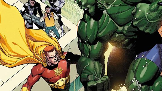 'Heroes Reborn' #2 is a good riff on Superman