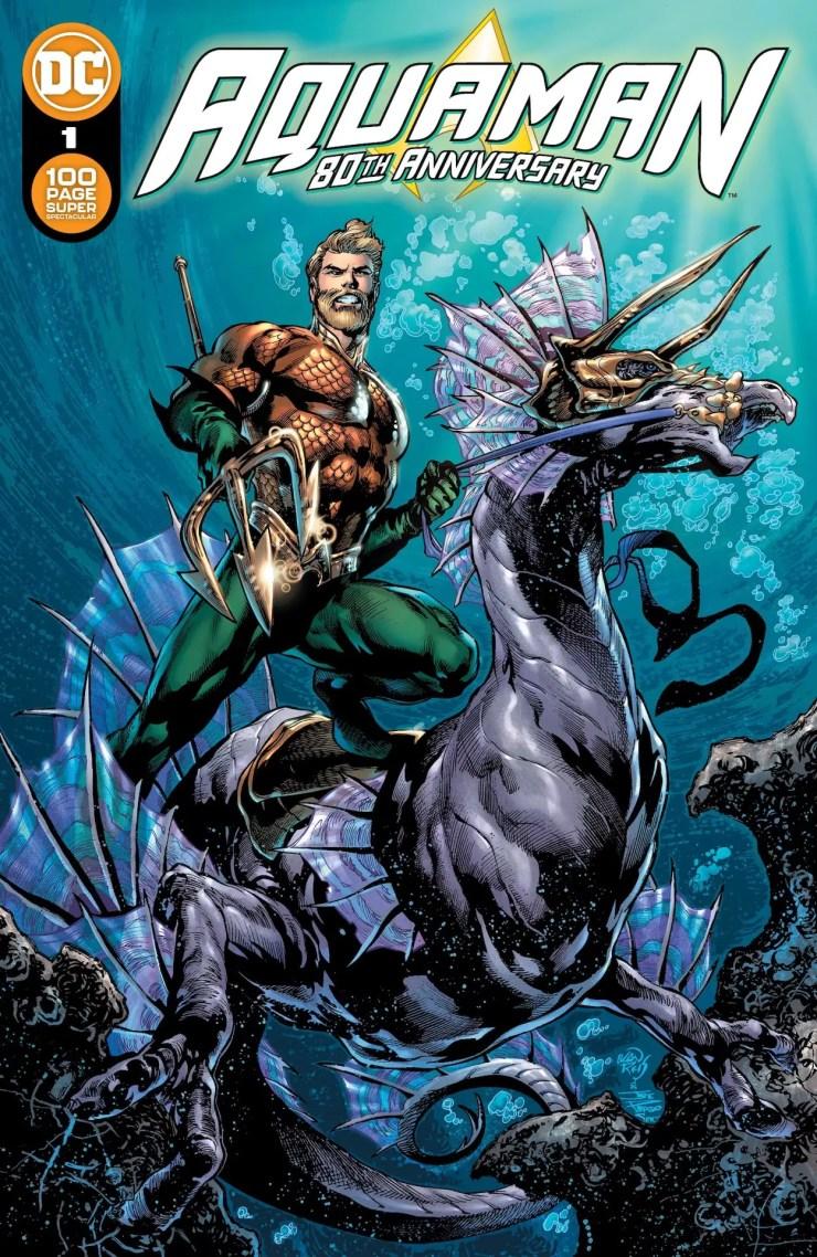 DC Comics announces 'Aquaman 80th Anniversary 100-Page Super Spectacular'