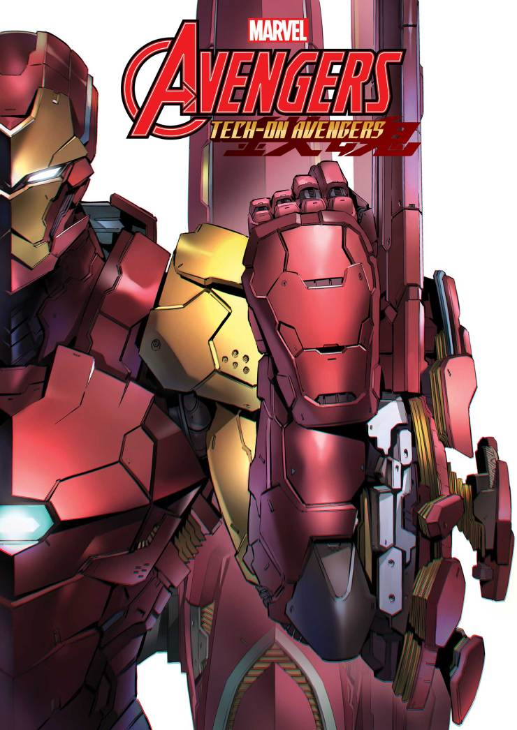 Marvel launching 'Tech-On Avengers' #1 on August 11th 2021