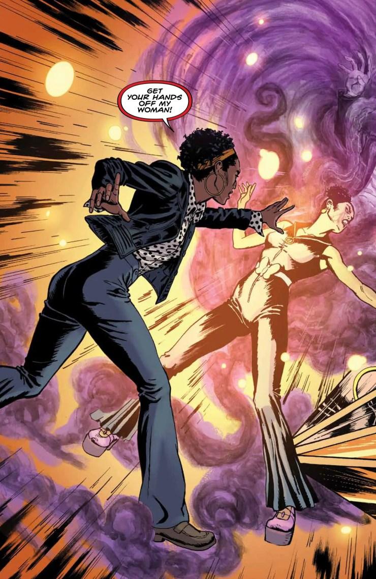 Elena Abbott fights the Umbra