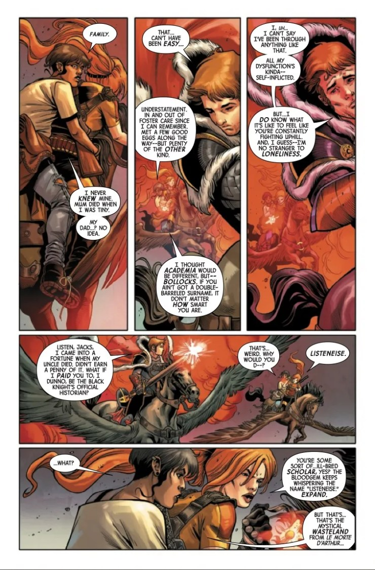 Marvel Preview: Black Knight: Curse of the Ebony Blade #3