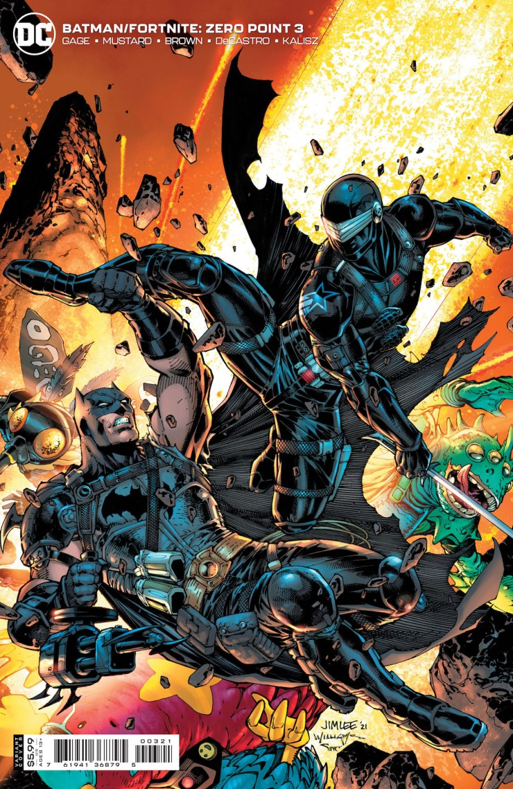 DC Preview: Batman/Fortnite: Zero Point #3